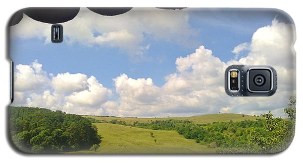 Galaxy S5 Case featuring the photograph Romanian Hills by Ramona Matei