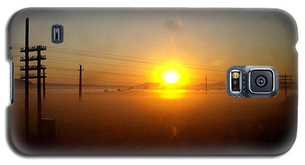 Galaxy S5 Case featuring the photograph Romanian Sunset by Giuseppe Epifani