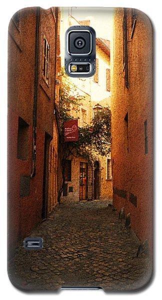 Galaxy S5 Case featuring the photograph Romano Cartolina by Micki Findlay