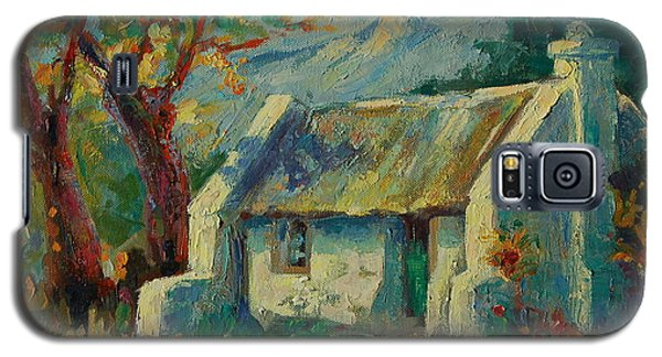 Galaxy S5 Case featuring the painting Romantic Cape Cottage by Thomas Bertram POOLE