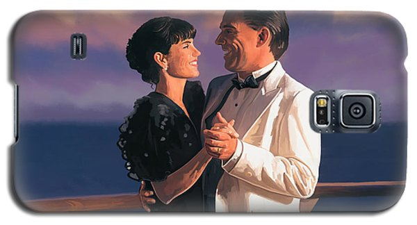 Galaxy S5 Case featuring the painting Romantic Cruise by Tim Gilliland