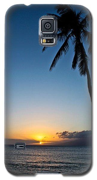 Romantic Maui Sunset Galaxy S5 Case