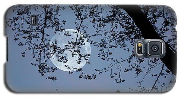 Galaxy S5 Case featuring the photograph Romantic Moon  by Angel Jesus De la Fuente