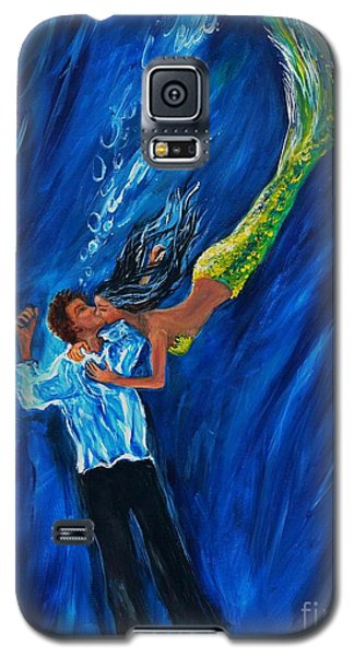 Romantic Rescue Galaxy S5 Case by Leslie Allen