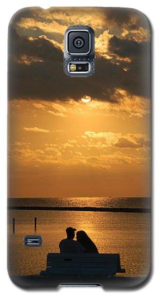 Romantic Sunrise Galaxy S5 Case by Leticia Latocki