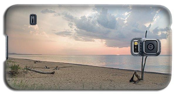 Romantic Sunset At Agate Beach Galaxy S5 Case
