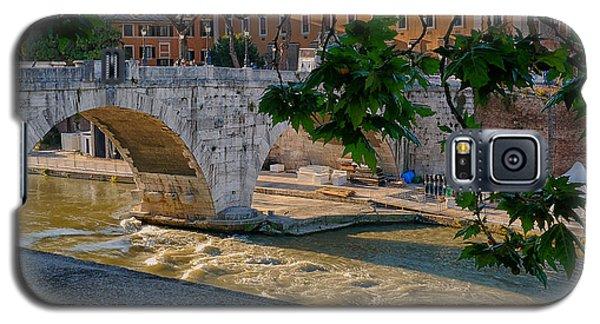 Rome- Bridge At Dusk Galaxy S5 Case