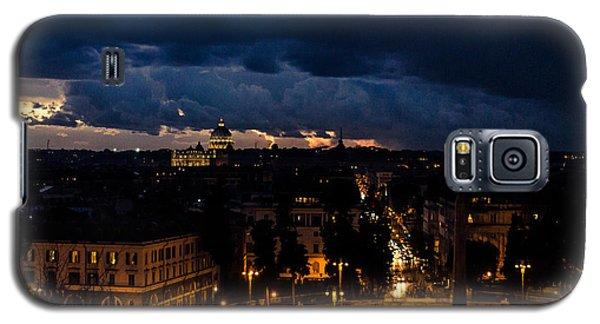 Rome Cityscape At Night  Galaxy S5 Case