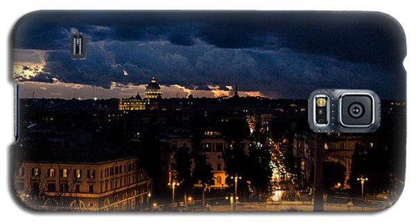 Rome Cityscape At Night  Galaxy S5 Case by Andrea Mazzocchetti
