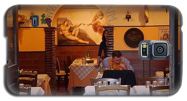 Rome- Dinner For One Galaxy S5 Case