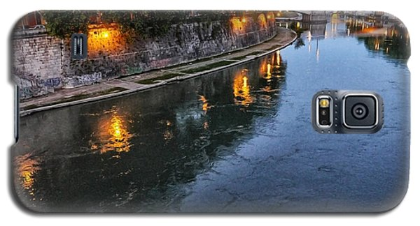 Rome- Dusk On The River Galaxy S5 Case