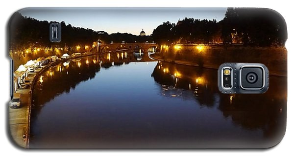 Rome- Dusk On The River2 Galaxy S5 Case