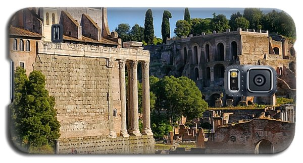 Rome Ruins Afternoon Light Galaxy S5 Case
