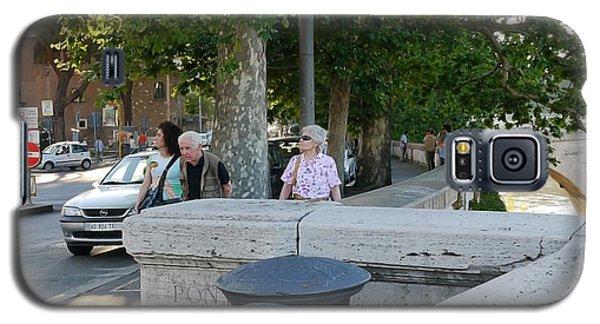 Rome Sidewalk 1 Galaxy S5 Case