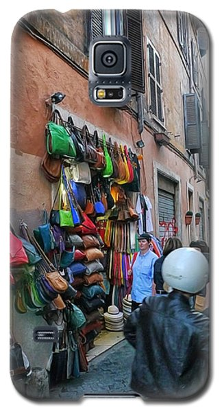Rome- Street Market Galaxy S5 Case