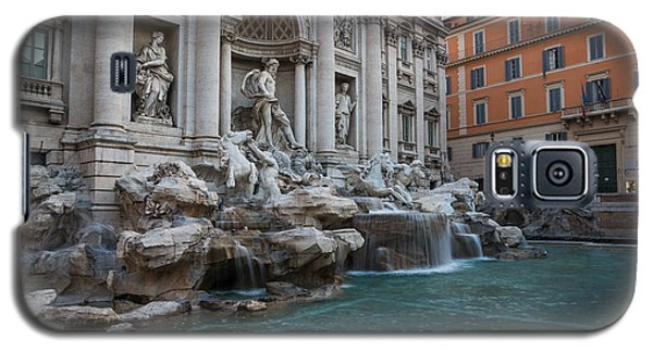 Rome's Fabulous Fountains - Trevi Fountain - No Tourists Galaxy S5 Case