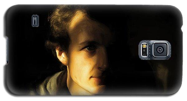 Galaxy S5 Case featuring the digital art Ron Harpham by Ron Harpham