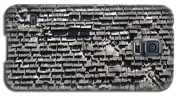 Roof Textures Galaxy S5 Case by Bonnie Muir