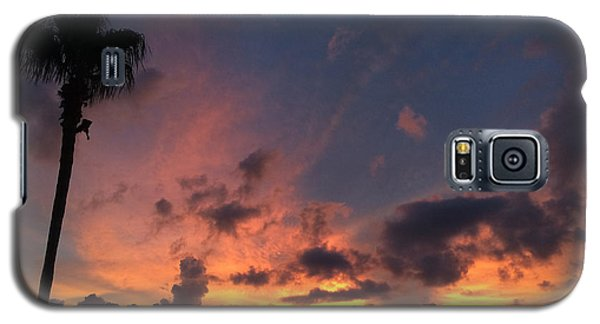 Rooftop Sunset International Plaza Galaxy S5 Case