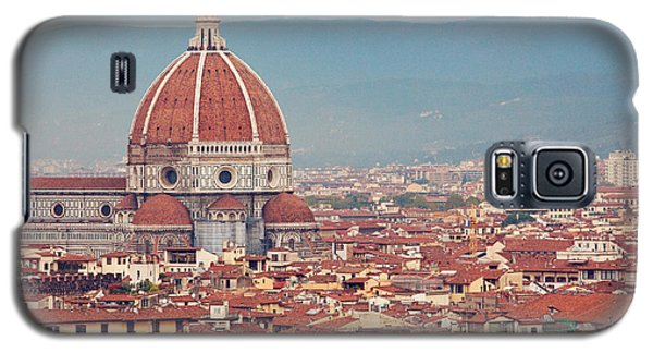 Rooftop View Of Florence Italy Galaxy S5 Case by Kim Fearheiley