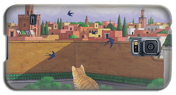 Rooftops In Marrakesh Galaxy S5 Case