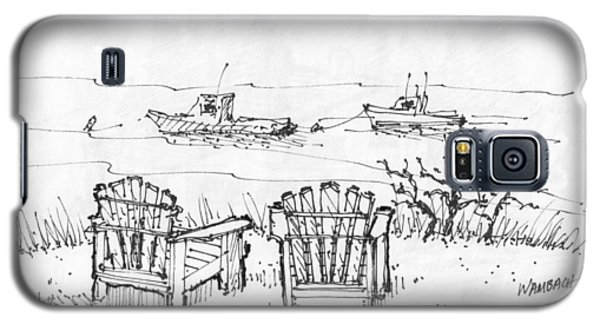 Room For Two Monhegan Island 1993 Galaxy S5 Case