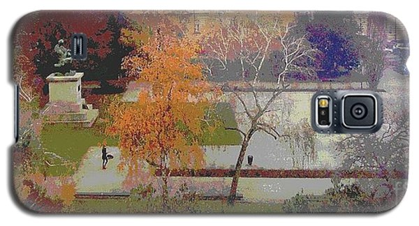 Room With A View Zagreb Galaxy S5 Case by Ann Johndro-Collins