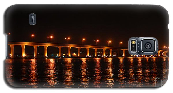 Galaxy S5 Case featuring the photograph Roosevelt Bridge Panorama by Olga Hamilton