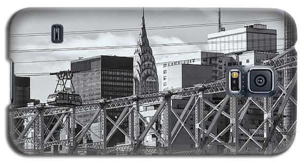 Roosevelt Island Tram And Manhattan Skyline II Galaxy S5 Case