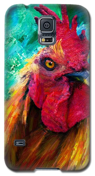 Rooster Colorful Expressions Galaxy S5 Case