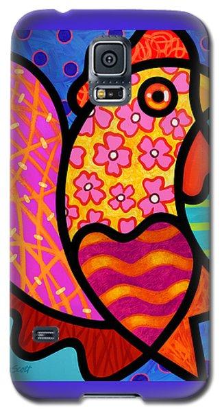 Rooster Dance Galaxy S5 Case by Steven Scott