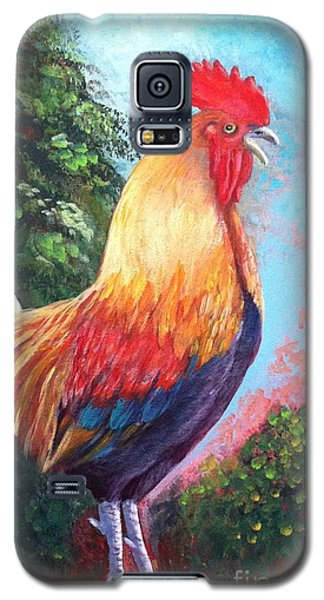 Rooster For Elaine Galaxy S5 Case