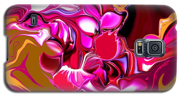 Galaxy S5 Case featuring the digital art Rooster by Loxi Sibley