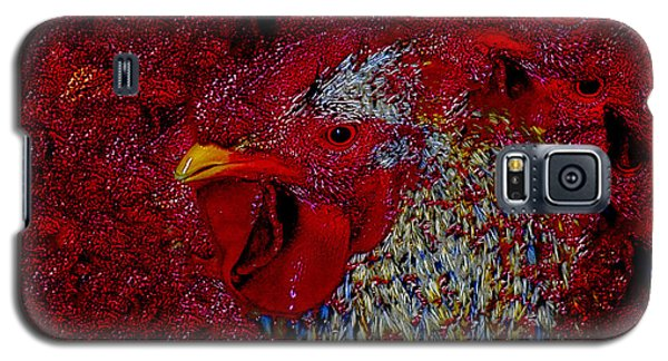 Rooster Red Galaxy S5 Case