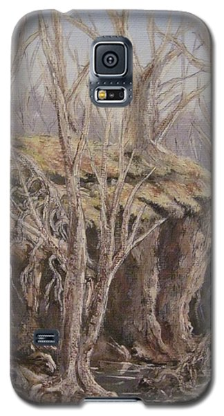 Galaxy S5 Case featuring the painting Roots by Megan Walsh