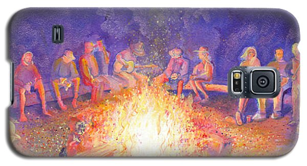 Roots Retreat Campfire Jam Galaxy S5 Case