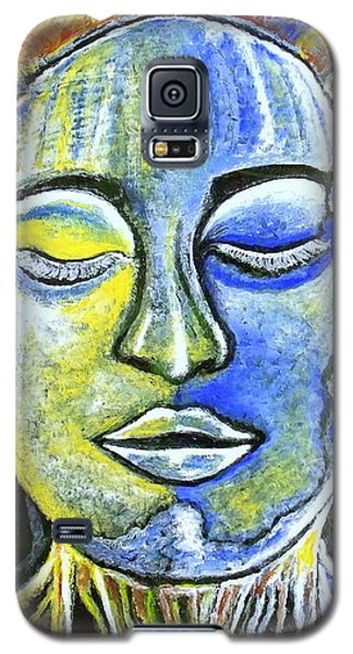 Galaxy S5 Case featuring the painting Roots Run Deep by Julie  Hoyle