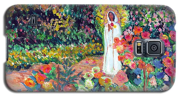 Rosa Mistica In Monet's Garden Galaxy S5 Case