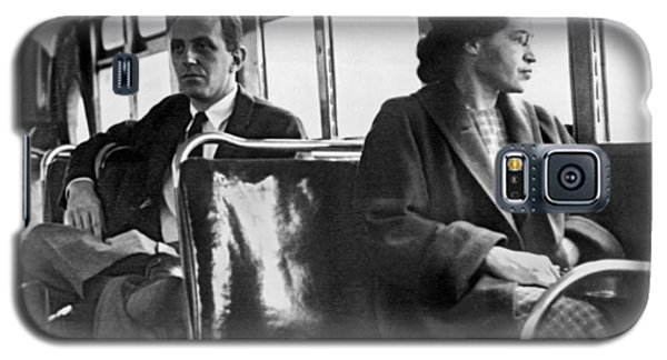 Rosa Parks On Bus Galaxy S5 Case