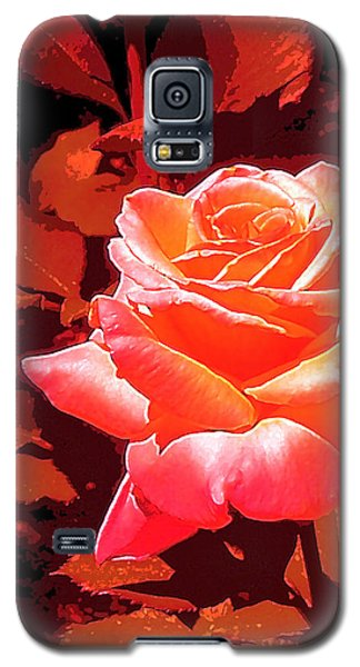 Galaxy S5 Case featuring the photograph Rose 1 by Pamela Cooper