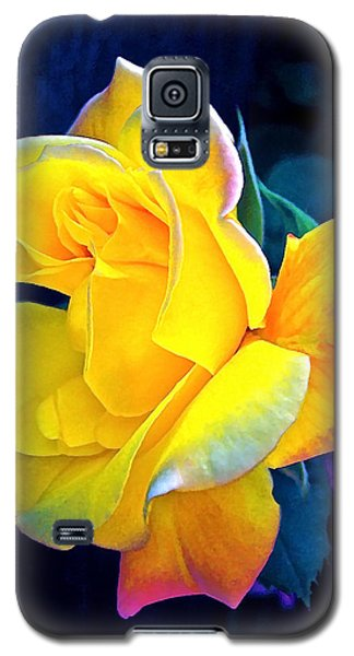Galaxy S5 Case featuring the photograph Rose 4 by Pamela Cooper