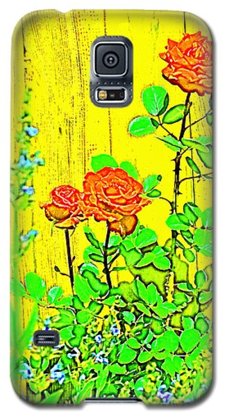 Galaxy S5 Case featuring the photograph Rose 9 by Pamela Cooper