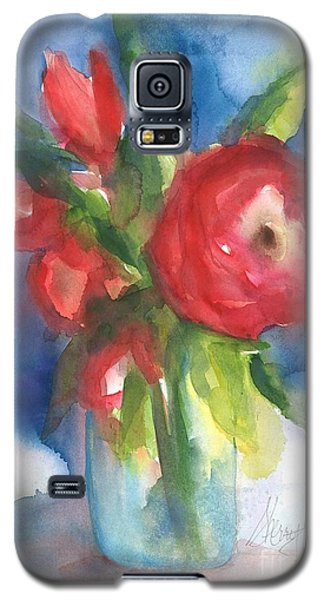 Rose Blooming Galaxy S5 Case