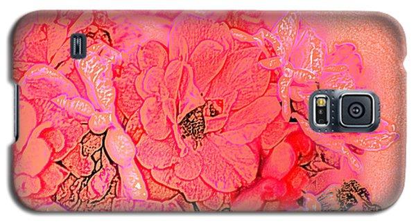 Rose Bouquet Galaxy S5 Case