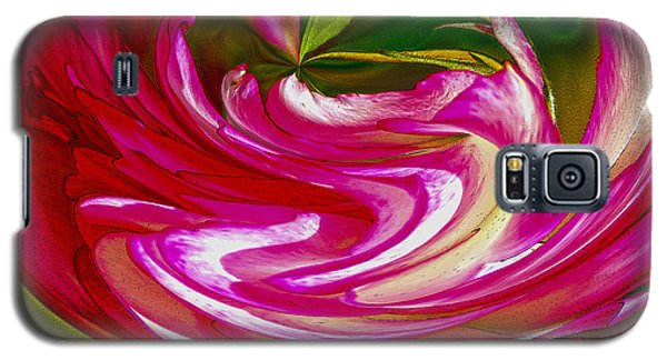 Galaxy S5 Case featuring the photograph Rose Bowl by Nancy Marie Ricketts