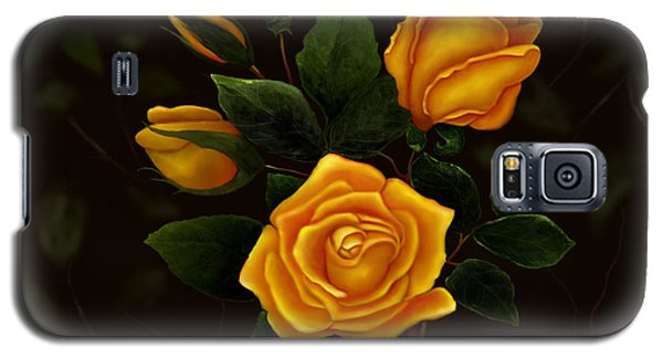 Rose Buddies Galaxy S5 Case by Sena Wilson