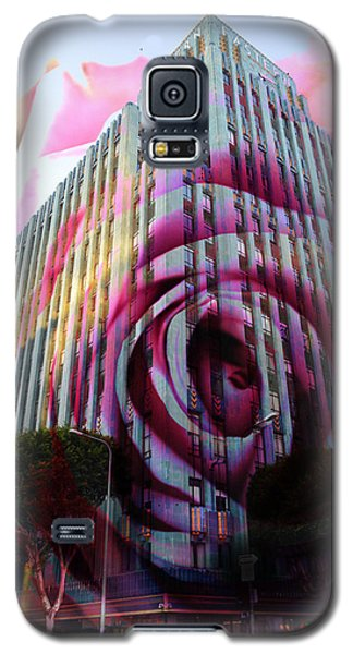 Galaxy S5 Case featuring the photograph Rose Building by John Fish