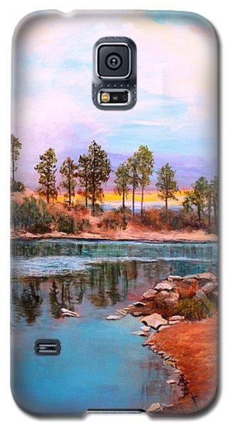 Rose Canyon Lake 2 Galaxy S5 Case