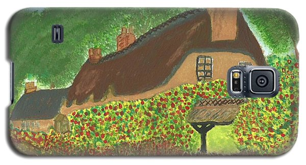 Rose Cottage Galaxy S5 Case by Tracey Williams