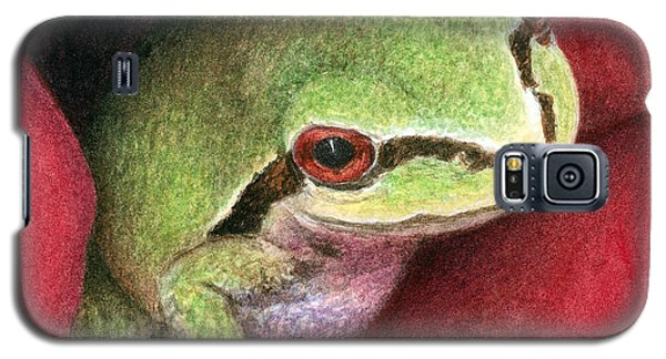 Rose Frog Galaxy S5 Case